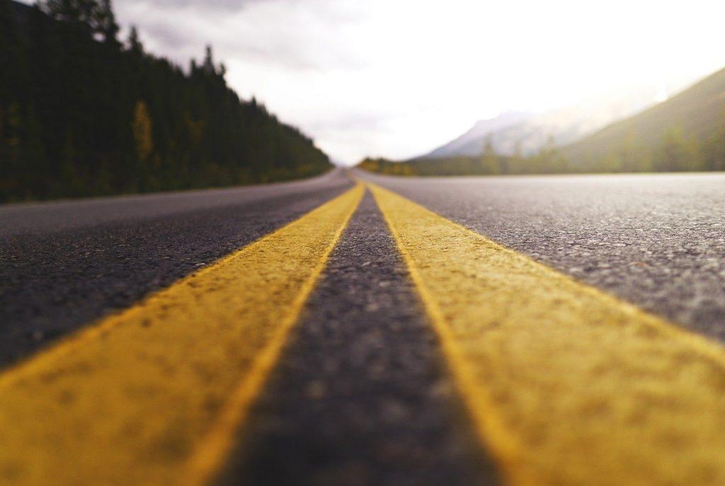road, highway, journey